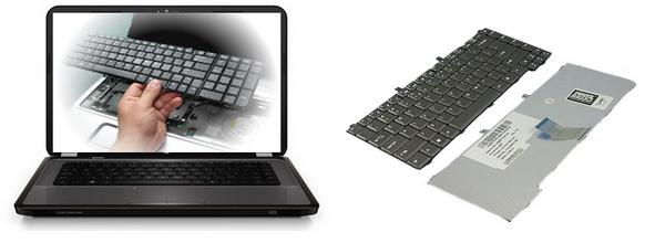 Замена клавиатуры ноутбука Екатеринбург